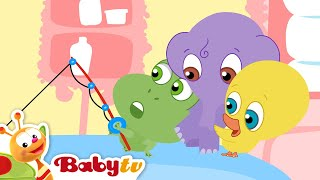 Angeln mit den Bath Tubbies -  BabyTV Deutsch
