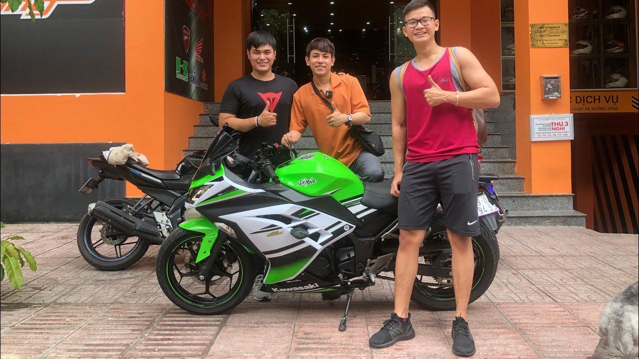 KAWASAKI Ninja 300 về đội thanh niên đẹp trai 6 múi