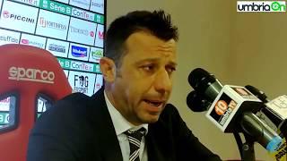 Perugia – Parma 3 a 0, parla Roberto D'Aversa