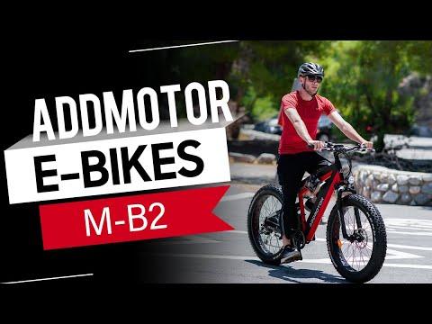MOTAN M-B2 750W Dual Batteries Electric Fat Bike