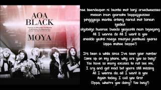 [ROM + ENG] AoA Black - Moya Lyrics