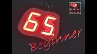 65 BPM Beginner - music for sport - running jogging spinning