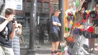Black Box Mystery Lady Visits Fantasy Sunglasses in Soho