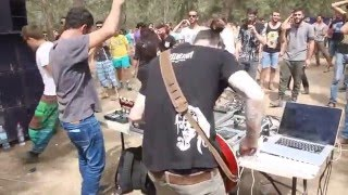 "Psytrance guitar ""Judaika - Dream in Different Shapes"" @ Hana Famliy - Israel"