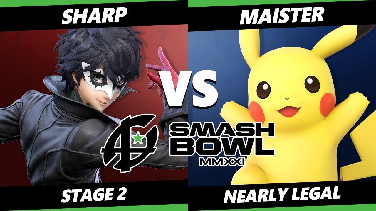 VGBootCamp - Smash Bowl MMXI Nearly Legal SSBU - Sharp (Joker, Wolf) Vs. ESAM (Pikachu, Min Min) Ultimate Stage 2