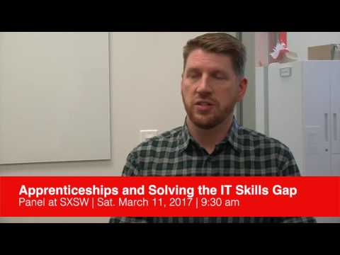 Charles Eaton discusses upcoming SXSW Panel on IT Skills Gap