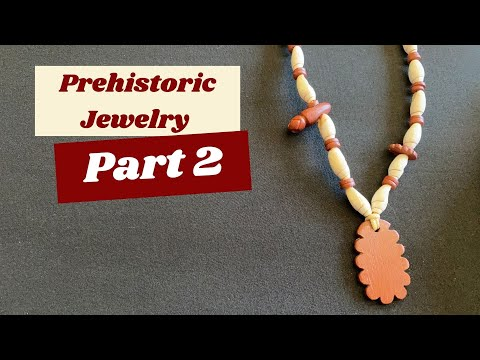 Argillite and Olivella Shell Prehistoric Style Necklace (Part 2 of 2)
