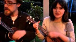 No Surprises (ukulele cover) feat. skateyc