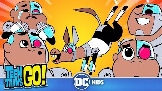 Teen Titans Go! | Adorable Cyborg | DC Kids