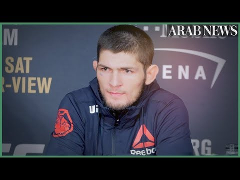 Khabib 'the Eagle' sees immense Arab talent