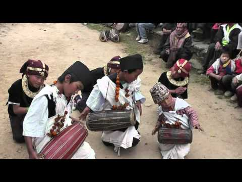 First Child Madale of Nepal – Pun Cultural Dance