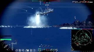 월드오브워쉽 어뢰 피하기의 달인 / World of Warships TorpedoBeat Epic Movement