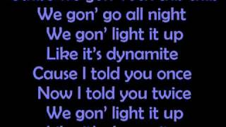 Taio Cruz-Dynamite Lyrics.flv