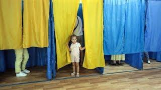 Выборы Украине. Первые