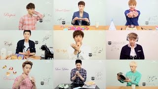 Eye Contact with EXO (BGM: TENDER LOVE)