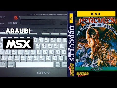 Hercules Slayer of the Damned (Gremlin, 1988) MSX [311] Walkthrough