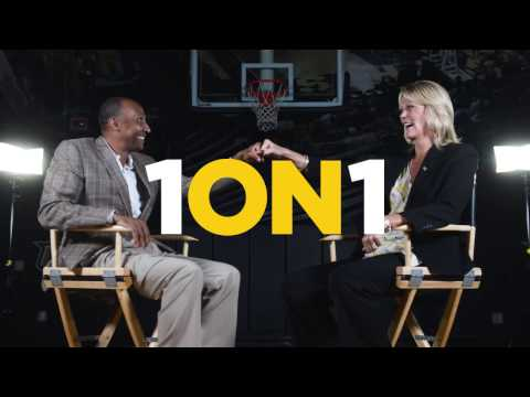 1ON1 with coaches Johnny Dawkins and Katie Abrahamson-Henderson