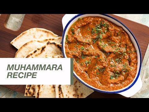 Muhammara Recipe | Roasted Red Pepper Dip | Appetizer | Food Channel L Recipes