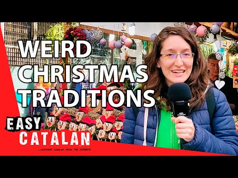 Do Catalans have weird Christmas traditions? | Easy Catalan 10 photo