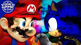 Super Mario vs. Sonic the Hedgehog - Video Game Rap Battle