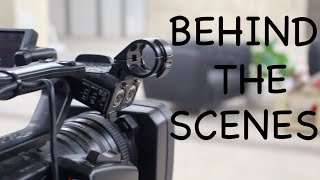 Behind the scenes   With Sh. Ibrahim