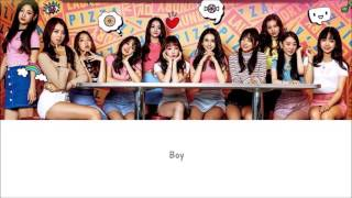 Hold Up I.O.I Lyrics [ENG+ROM]