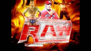 WWE Raw Theme Song 'Burn It To The Ground'(TV Edit), 1080p HD Arena Effects :D + D/L w/Lyrics