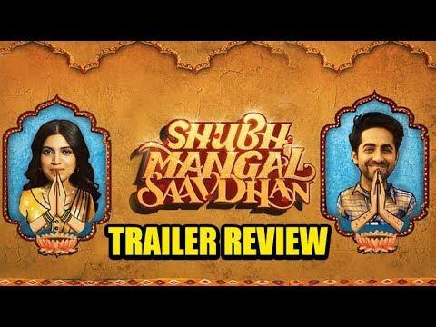 Shubh Mangal Savdhan Trailer Review | Ayushmann Khurrana | Bhumi Pednekar