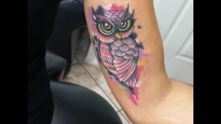 Tattoo Buho Colores