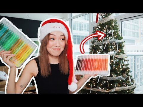 Decorating My Christmas Tree with STATIONERY?!