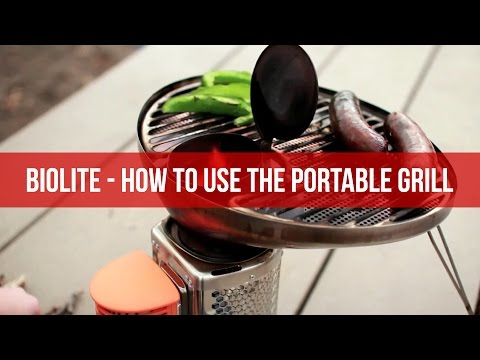 BioLite  - How To Use The Portable Grill