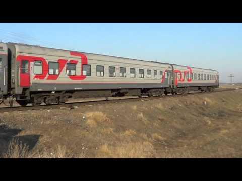3ТЭ10М-1297 с поездом №65  Москва – Кишинёв, перегон Мерены – Ревака