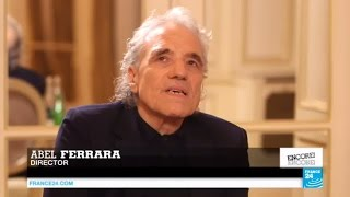 """Cult director Abel Ferrara says """"films have a language of their own"""""""