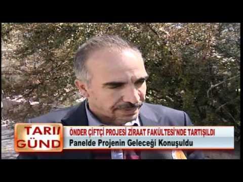 ÖNDER ÇİFTÇİ PROJESİ ZİRAAT FAKÜLTESİ'NDE TARTIŞILDI 17.04.2012