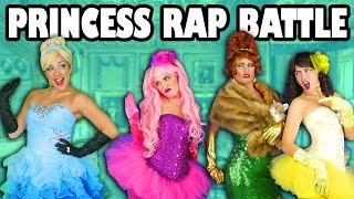Cinderella vs Ugly Stepsisters Princess Rap Battle Music Video Family Friendly. Totally TV