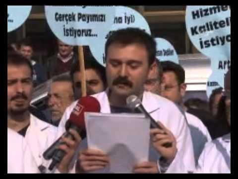 Bozyaka Asistan Hekimleri Çalışma Basın Açıklaması (Cihan Haber Ajansı Videosu)