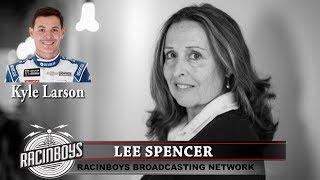 RACINBOYS EXCLUSIVE Lee Spencer with Kyle Larson Dec. 30 2018