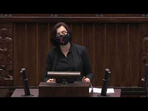 Anita Sowińska - wystąpienie z 27 października 2020 r.