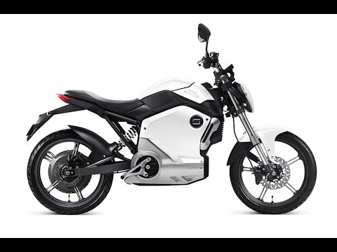 Super Soco TS1200r 1200w Electric Moped Static Review - Green-Mopeds.com
