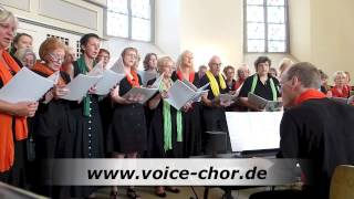 Hallelujah -  Shrek Song - Leonard Cohen - Neue Homepage www.voice-chor.de.rs