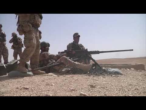 DFN:U.S. and Jordanian Armed Forces Live Fire Range w/lower thirds, JORDAN, 04.18.2018