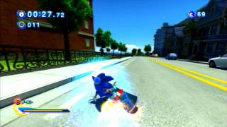 Sonic Generations Music & Gameplay / City Escape (Classic)