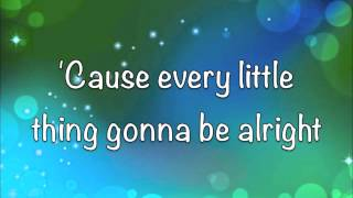 Bob Marley - Three Little Birds - Lyrics!! - (HD)