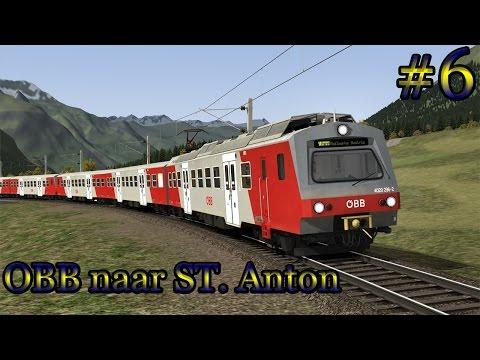 Naar ST. Anton met de ÖBB 4020 - Train Simulator (Livestream #6)