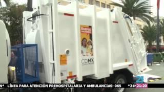 Recolección de basura en la CDMX