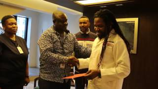 FERRE GOLA DONATION TO TEXAS CANCER CENTER 2016