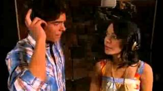 "Zac Efron And Vanessa Hudgens Recording ""I Gotta Go My Own Way"" From High School Musical 2"