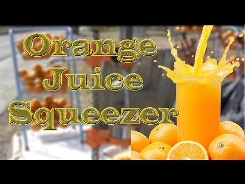 Orange Juice Squeezer on the GT Road Punjab Pakistan (with English translation)