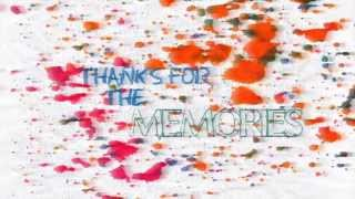 Fall Out Boy-Thanks for the memories(Lyric Video)[HD][HQ]