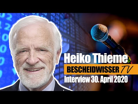 """Zu schnell zu hoch? Marktausblick mit Heiko Thieme in der """"größten Krise der modernen Geschichte"""""""